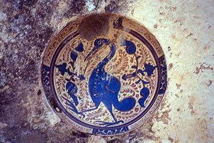 Le décorations insolites de l'église d'Agios Fanourios, Kitharida