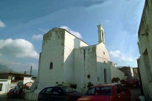 L'église Byzantine de l'Evangelismos à Evangelismos