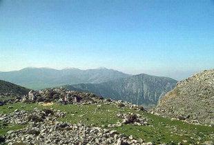 Habitat Etéocretois à Karfi et les Montagnes du Dikte