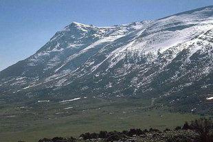 Nida Plateau in late winter