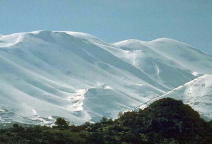 Mount Psiloritis in the winter