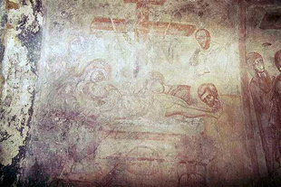 A 14C fresco in Agios Antonios Church, Avdou