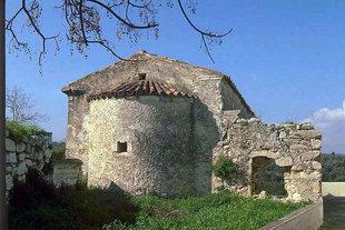 L'église de la Metamorphosis de Sotiras à Margarites