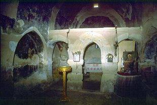 Metamorphosis of Sotiras Church and its stone altar screen, Margarites
