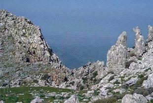 L'habitat Etéocretois de Karfi, au-dessus du Plateau de Lassithi