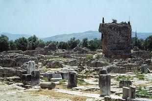 Praetorium ou le palais du gouverneur Romain, Gortyn