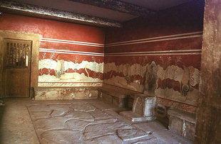 La Salle du Trône, Knossos