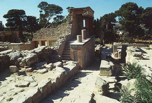 The North Entrance and the Bull Relief, Knossos