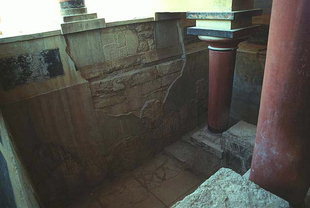 Le Bassin Lustral, Knossos