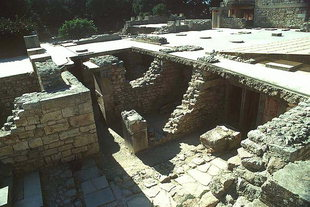 The Treasury Room from the Piano Nobile, Knossos