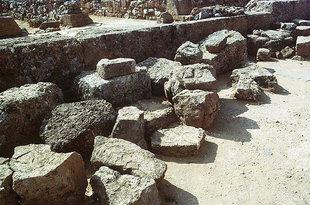 Building material found near the corridor, Malia
