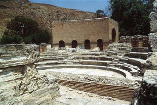 The Odion and Roman Theatre, Gortyn