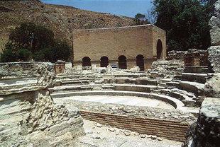 L'Odion ed il Teatro Romano, Gortyn