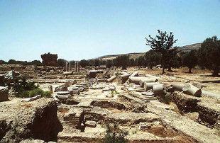 Le Praetorium ou le palais du gouverneur Romain, Gortyn