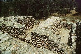 The Treasury area, Agia Triada