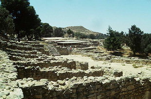 The shops of the Agora, Agia Triada