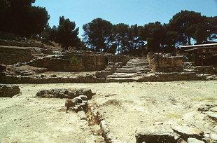 Die Agora von Agia Triada