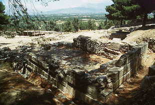 The Postpalatial Minoan shrine, Agia Triada