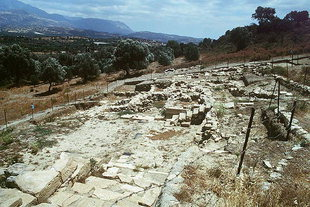 The tombs of Agia Triada