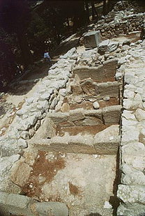 Τα κιβώτια στα οποία βρέθηκε ο διάσημος Δίσκος της Φαιστού