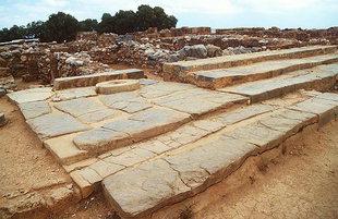 The Paved Terrace, Malia