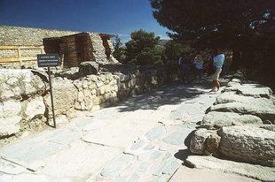 The West Entrance, Knossos