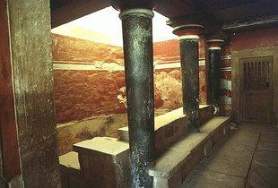 Das Kultbecken, Knossos