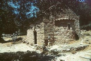L'église de la Panagia à Lissos