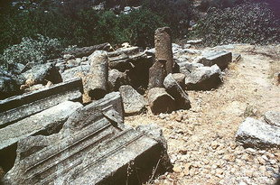 Remains of the Asklipios, Lissos