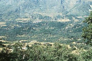 Die minoische Siedling von Monastiraki