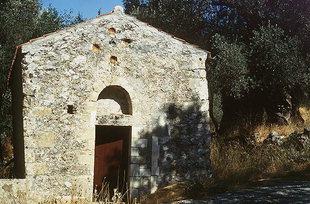 La chiesa di Agios Theodoros ad Àmari