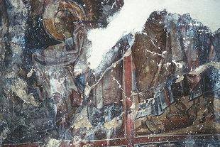 Un affresco della chiesa di Agios Theodoros ad Àmari