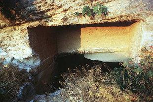 The Roman cisterns in Eleftherna