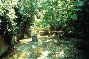I ruderi della chiesa di Panagìa a Patsos