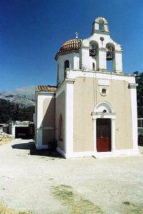 Die Kirche vom Assomaton-Kloster