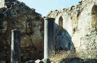 The former church of the Panagia in Agia