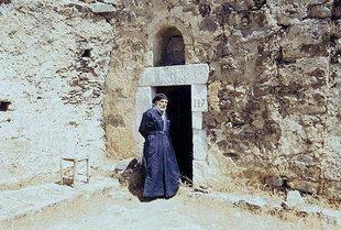 Le prêtre de Vathi, église d'Agios Georgios, Vathi
