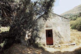 La chiesa di Michael Archangelos a Vathì