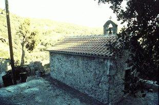 The Byzantine church of Agia Paraskevi, Hondros