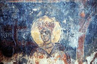 A fresco in Agios Georgios Church in Kato Floria