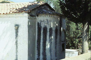 The Byzantine church of Sotiras Christos, Tzevremiana