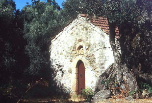 The Byzantine church of Michael Archangelos, Sarakina