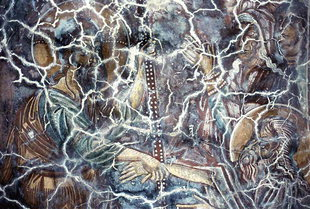 A 14C fresco in Michael Archangelos Church, Sarakina