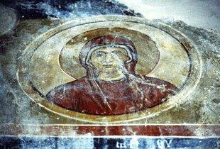 Un affresco in Sotiras Christòs Church, Sklavopoula