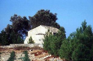 Die byzantinische Agios Georgios-Kirche, Vori
