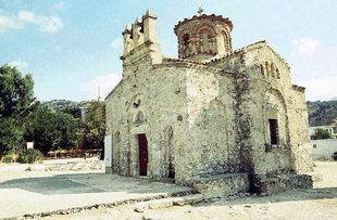 Η Βυζαντινή σταυροειδής εκκλησία της Παναγίας στη Λαμπινή