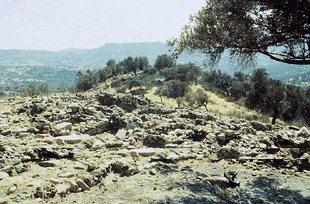 Die minoische Siedlung von Apodoulou