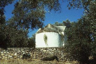 Die byzantinische Kirche Timios Stavros in Mires