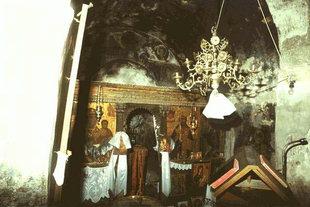 L'église Byzantine de la Panagia à Platanias