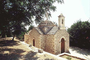 Agia Paraskevi Church in the Agricultural School, Gortyn